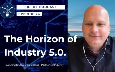 24   The Horizon Of Industry 5.0.   Dr. Jan – Marc Lischka – Partner, 5th Industry
